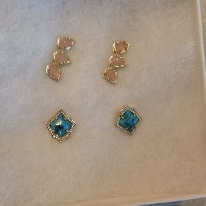 Kendra Scott earrings.